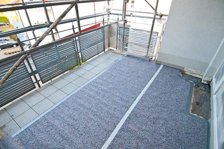 Baugerüst Balkon