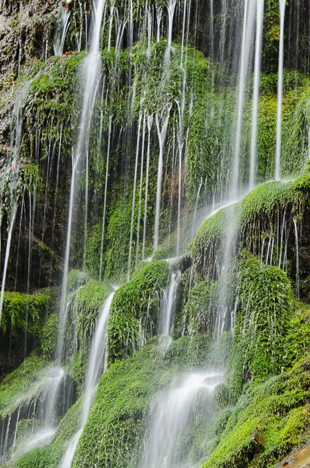 Wasserfälle in der Wimbachklamm