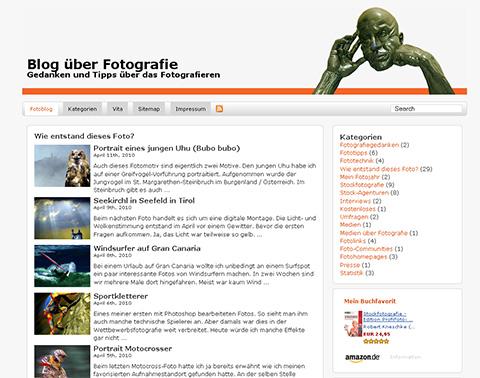 Blog über Fotografie