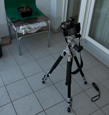 Aufbau beim Fotografieren