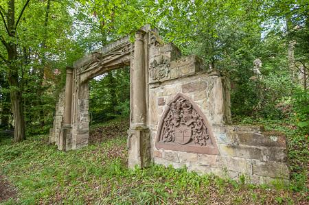 Tor aus Stein um 1400