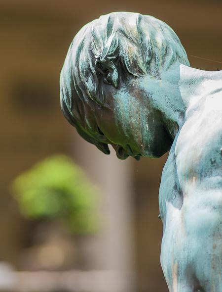 Skulptur im Lapidarium