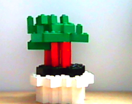 Lego-Beistellpflanze