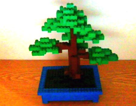 Lego-Bonsai