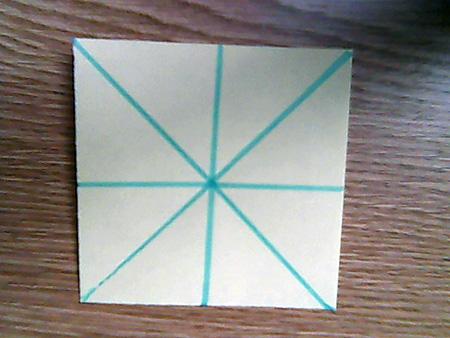 Origami ovale Schachtel 1