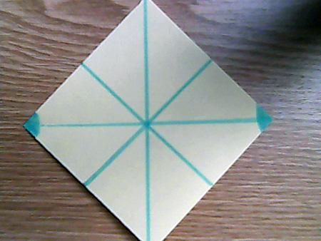 Origami ovale Schachtel 2