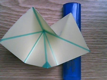 Origami ovale Schachtel 3