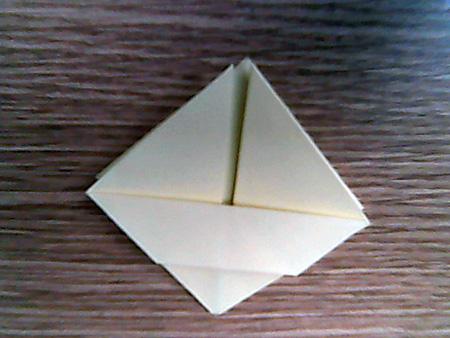 Origami ovale Schachtel 7