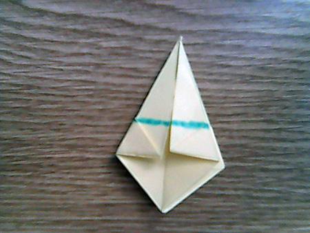 Origami ovale Schachtel 10
