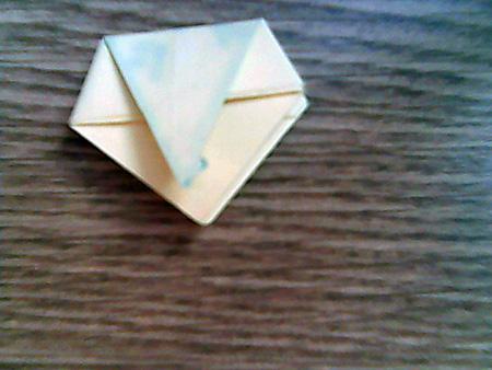 Origami ovale Schachtel 11