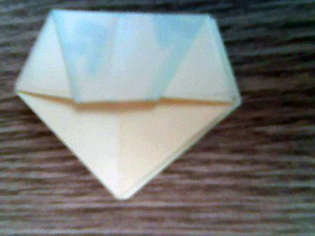 Origami ovale Schachtel 12