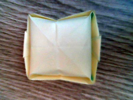 Origami ovale Schachtel 13