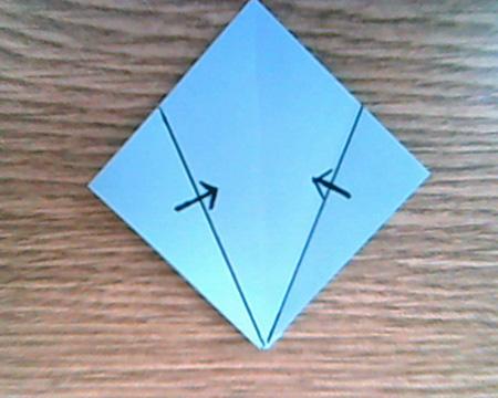 Origami Sternenschachtel 2