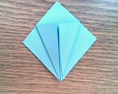 Origami Sternenschachtel 3