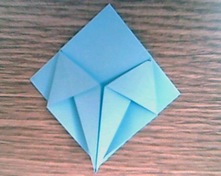 Origami Sternenschachtel 5
