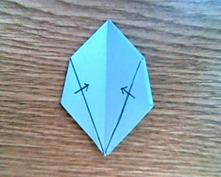 Origami Sternenschachtel 7