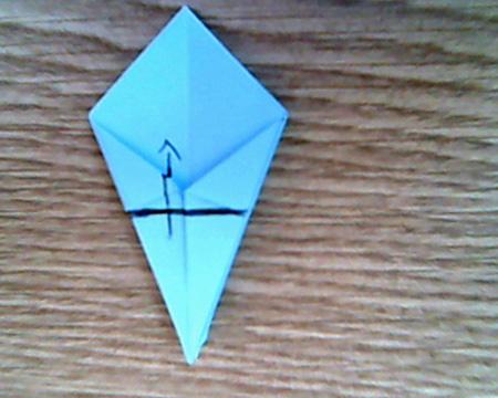 Origami Sternenschachtel 9