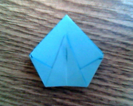 Origami Sternenschachtel 10