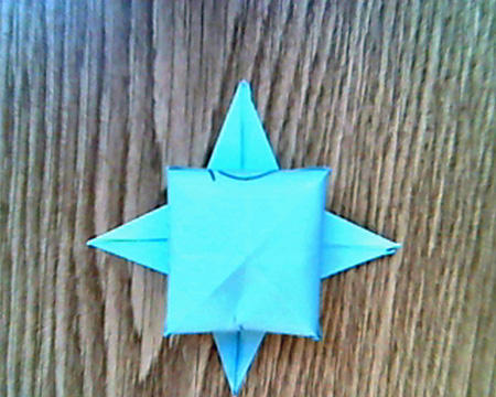 Origami Sternenschachtel 11