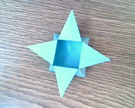 Origami Sternenschachtel 12