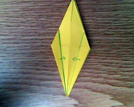 Origami Kranich #7