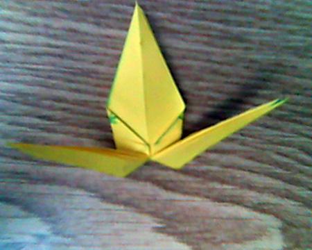 Origami Kranich #8