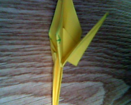 Origami Kranich #10