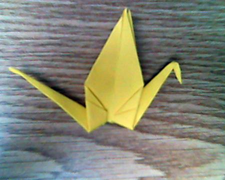 Origami Kranich #11