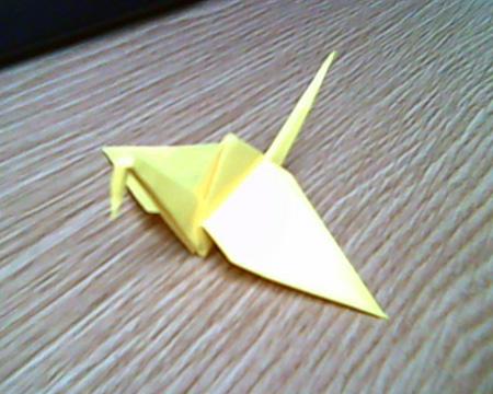 Origami Kranich #12