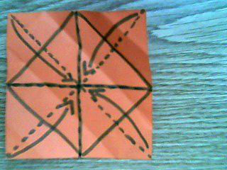 Origami-Schachtel 3