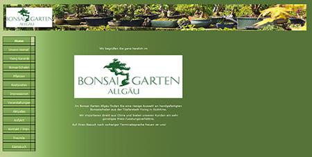 Bonsai Garten Allgäu