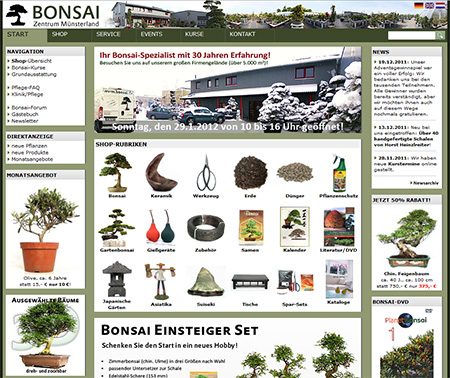 Bonsai Zentrum Münsterland