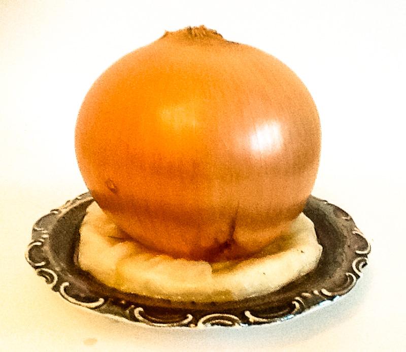Zwiebel als Akzentpflanze