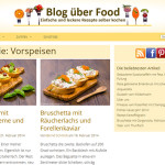 Blog über Food