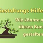 Gestaltungs-Hilfe für Bonsai-Bäume