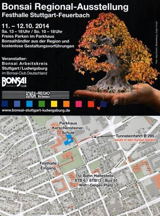 Bonsai Reginal-Ausstellung Stuttgart-Feuerbach 2014