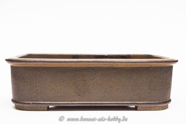 Rechteckige Bonsaischale von Roman Husmann 19,5 x 13cm
