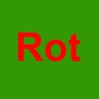 Kompelementärfarben grün und rot