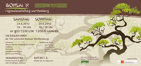 Uhingen Bonsaiausstellung 2012