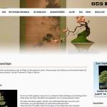 Homepage von bonsaiempire.de
