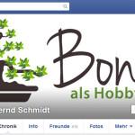 Bonsai als Hobby auf Facebook